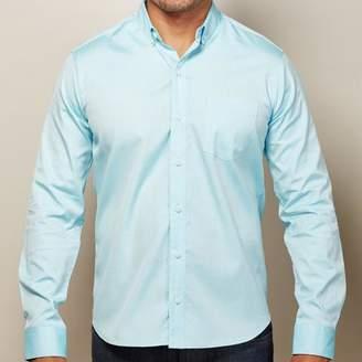 Blade + Blue Solid Aqua Blue Oxford Shirt - Ozzie