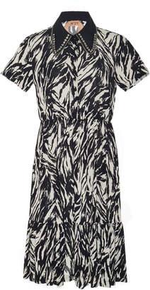 N°21 N 21 Ilda Printed Cotton-Blend Dress