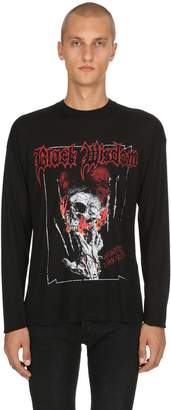 The Kooples Horror Light Modal & Cashmere T-Shirt