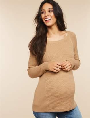 Motherhood Maternity Rib Knit Maternity Sweater