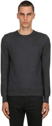 Tagliatore Crewneck Wool Knit Sweater