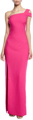 LIKELY Maxson Asymmetric Cold-Shoulder Gown
