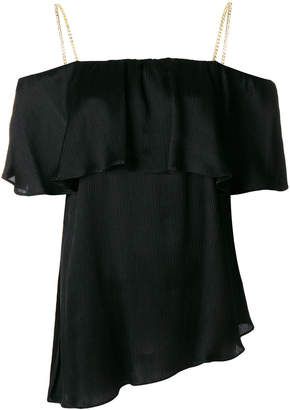 Balmain off-the-shoulder blouse