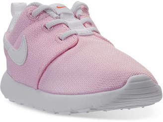 Nike Toddler Girls' Roshe One Casual Sneakers from Finish Line $47.99 thestylecure.com