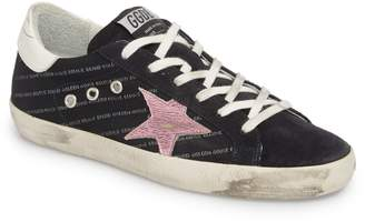 Golden Goose Superstar Logo Low Top Sneaker