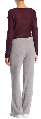 Magaschoni M BY Cashmere Drawstring Pants (Petite)