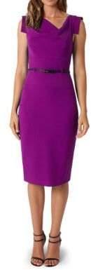 Black Halo Jackie O Tailored-Fit Dress