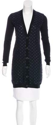 Lanvin Wool Embellished Cardigan