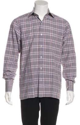 Tom Ford Linen-Blend Dress Shirt