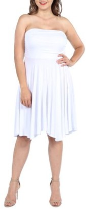 24/7 Comfort Apparel Irresistible Black Plus Size Party Dress