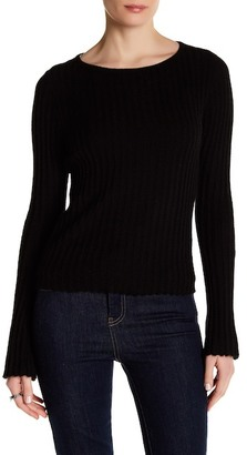 360 Cashmere Eugenie Bell Sleeve Cashmere Sweater $287 thestylecure.com