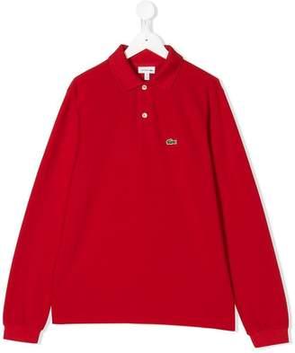 Lacoste (ラコステ) - Lacoste Kids TEEN long sleeve polo shirt