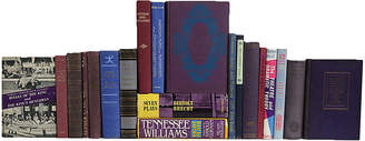One Kings Lane Vintage Poetry - Plays & Music in Berry - Set of 20 - Booth & Williams