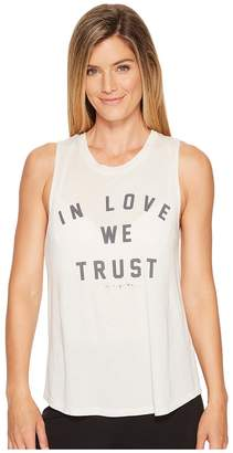 Spiritual Gangster In Love We Trust Muscle Tank Top Women's Sleeveless