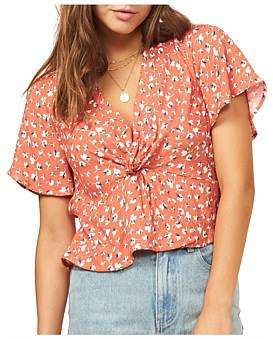 MinkPink Floral Harvest Top