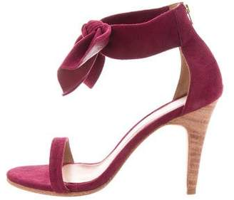 Ulla Johnson Suede Bow Sandals w/ Tags