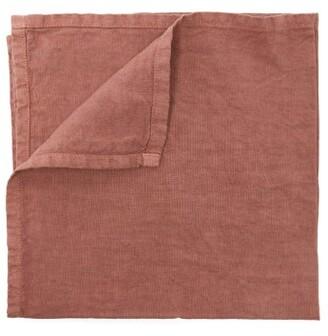 Once Milano - Linen Napkin Set - Dark Pink