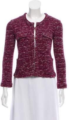 Etoile Isabel Marant Collarless Rib Knit Blazer