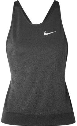 Nike Medalist Cutout Dri-fit Stretch Tank - Black