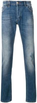 Philipp Plein Dirty Denim jeans