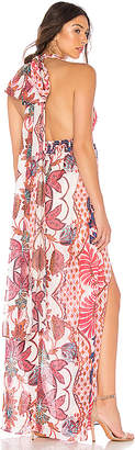 The Jetset Diaries Lana Floral Maxi Dress