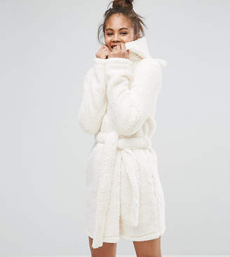 Asos Tall TALL Fluffy Robe with Ears