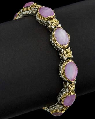 Konstantino Iliada 18K & Silver 30.00 Ct. Tw. Mother-Of-Pearl Gemstone Doublet Bracelet