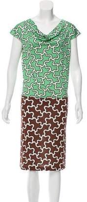 Diane von Furstenberg Alexy Silk Dress w/ Tags