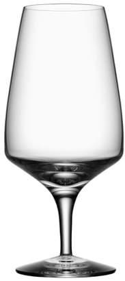 Orrefors 'Pulse' Leaded Crystal Beer Glasses
