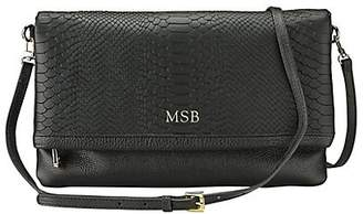 GiGi New York Personalized Carly Leather Convertible Clutch