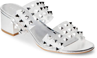 Katy Perry Kenzie Studded PVC Block Heel Sandals