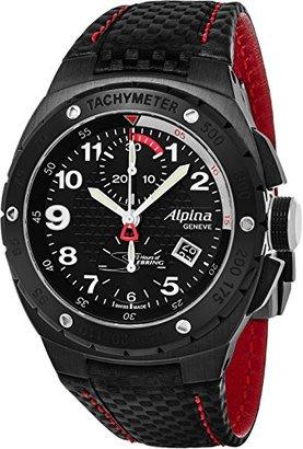 Alpina レーシング12時間のセブリング自動クロノグラフ日付Limited Editionブラックカーボンファイバーストラップウォッチal-725lbr5fbar6