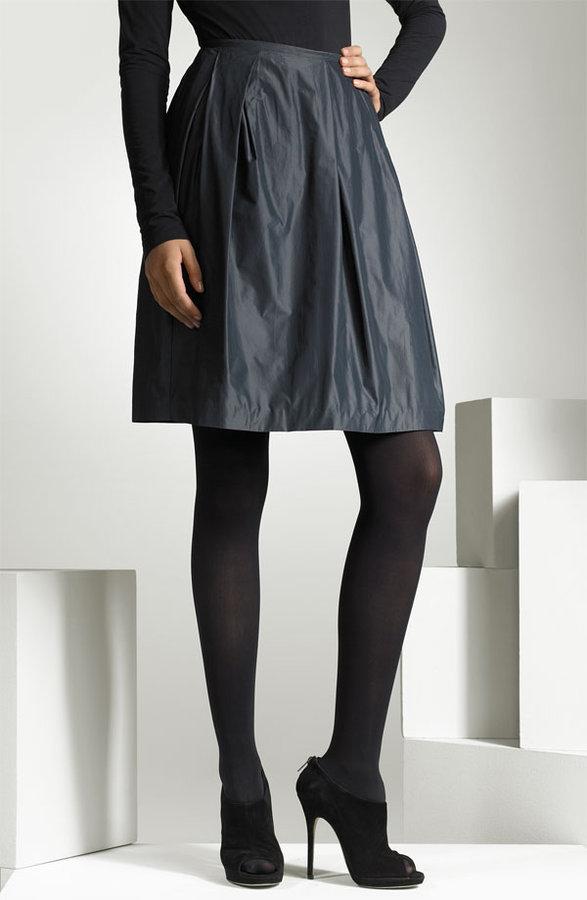 Vince Taffeta Dirndl Skirt