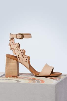 See by Chloe Ginny heeled sandals