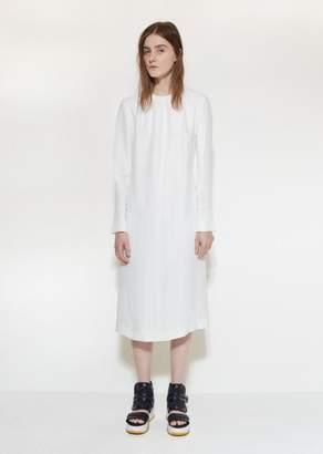 Marni Poplin Shift Dress Lily White