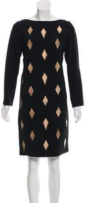 Osman Embroidered Knee-Length Dress