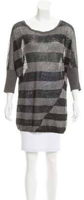 Vince Oversize Stripped Sweater