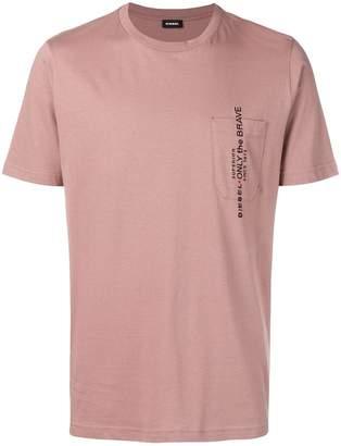 Diesel pocket detail T-shirt