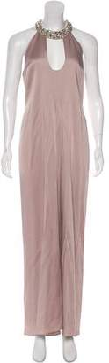 Max Mara Embellished Maxi Dress