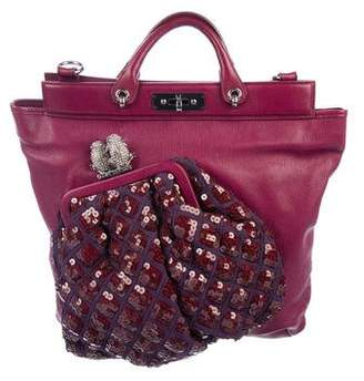 57c1f14655f7 Marc Jacobs Leather Robert Duffy Tote