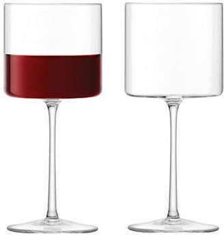 LSA International Set of Four Otis Red Wine Glasses