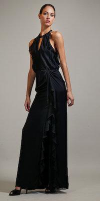 Black Long Dresses by Carmen Marc Valvo