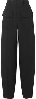 Chloé Crepe Tapered Pants - Black