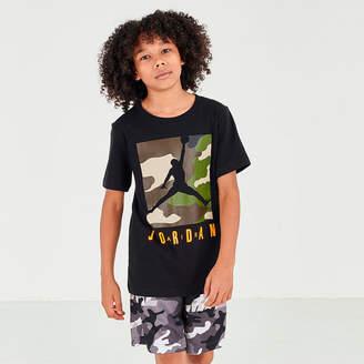 Nike Boys' Jordan Jumpman Air Camo Box Graphic T-Shirt