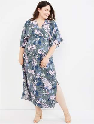 caf61c78821ed Motherhood Maternity Jessica Simpson Plus Size Floral Smocked Waist Maternity  Dress