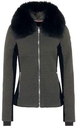 Fusalp Montana II fur-trimmed ski jacket