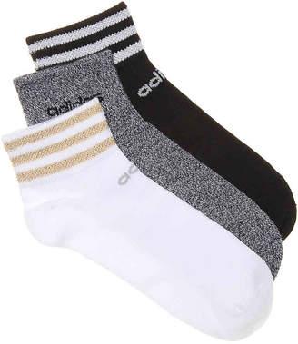 adidas Superlite Ankle Socks - 3 Pack - Women's