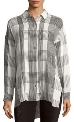 Splendid Plaid Button-Down Shirt