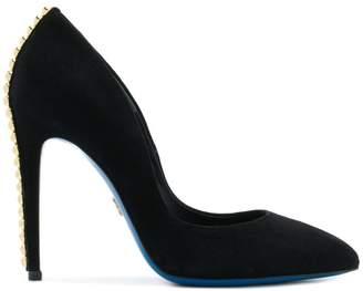 Loriblu stud-embellished pointed-toe pumps