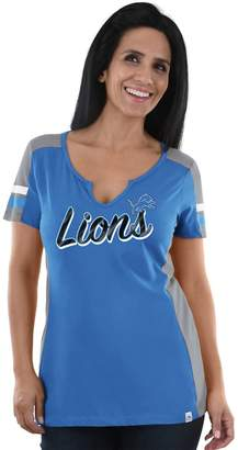 Majestic Women's Detroit Lions Pride Playing Tee